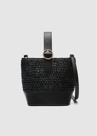 Top Strap Bucket Bag