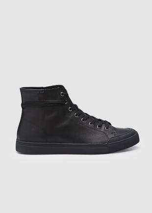 Leather High Tops