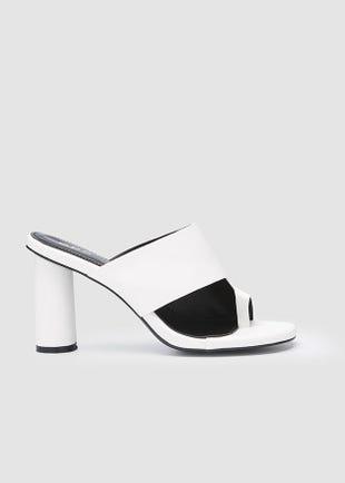 Toe Loop Sandal Heel