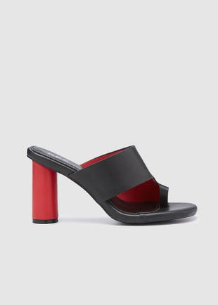 Toe Loop Sandal Heel