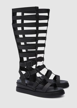 Platform Gladiator Boots