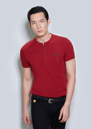 HENLEY TEE - MEN