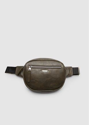 Double Pocket Belt Bag