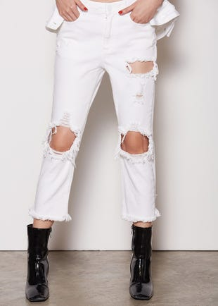 Cropped Kristina Jeans