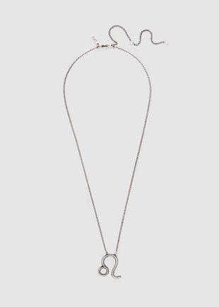 Leo - Zodiac Necklace-silver