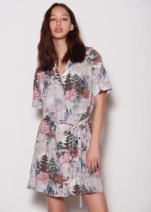 Sakura Shirt Dress