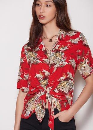 Floral Resort Shirt