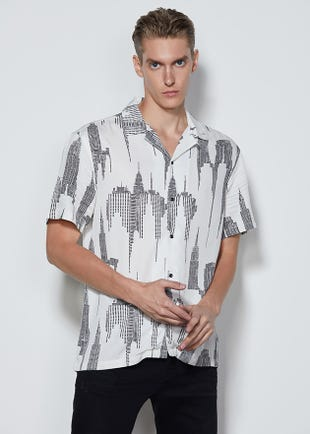Graphic Resort Shirt