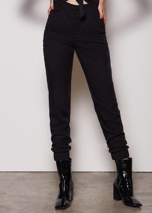 Elastic Cuff Trousers