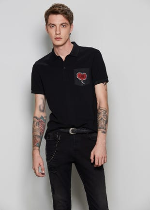 Hard Love Polo Shirt