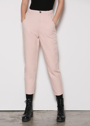 Balloon Trousers in Pink