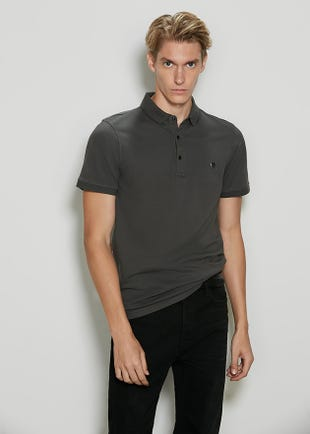 3-Button Polo Shirt