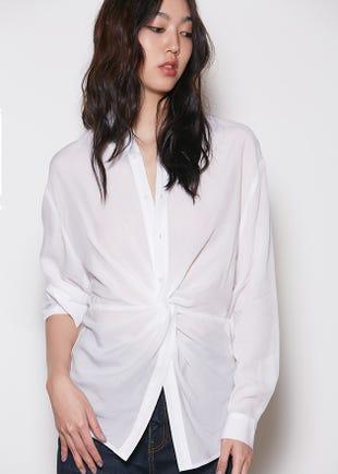 Twist Front Shirt
