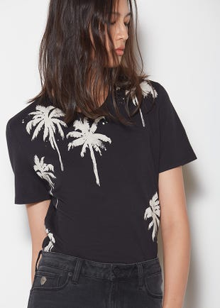 Palm Tree Graphic Tee