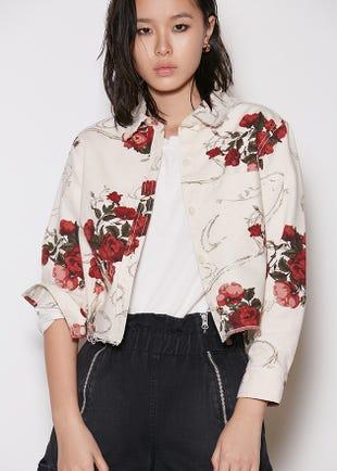Every Rose Denim Shirt