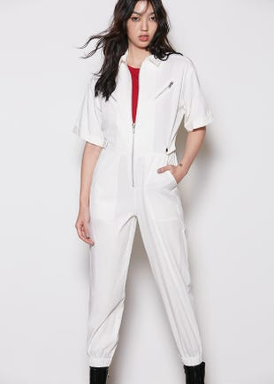 Cropped Boiler Suit