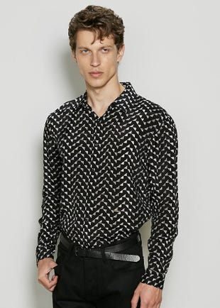 Triangles Button Up Shirt