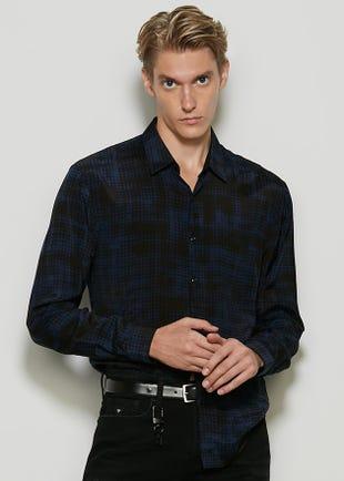 Matrix Button Up Shirt