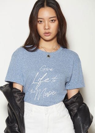 Give Life To The Music Tee