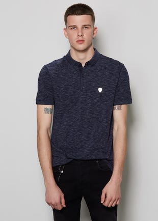 Space Dyed Polo