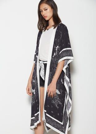 Paisley Kimono
