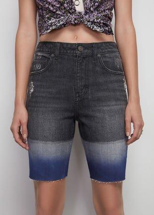 Dip Dye Bermuda Shorts