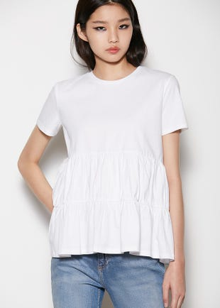 Tiered Smock T-Shirt