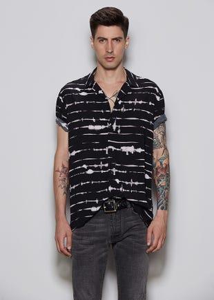 Tie Dye Stripe Shirt