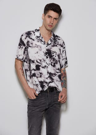 Tie Dye Resort Shirt