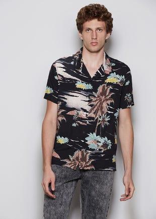 Vintage Palm Resort Shirt
