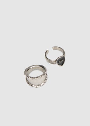 CPS Ring Set-silver