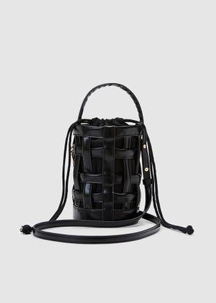 Crisscross Bucket Bag