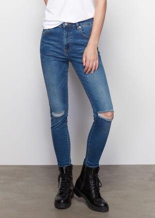 Light Blue Organic Skinny Jeans