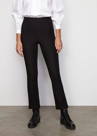 High Waist Bodycon Trousers