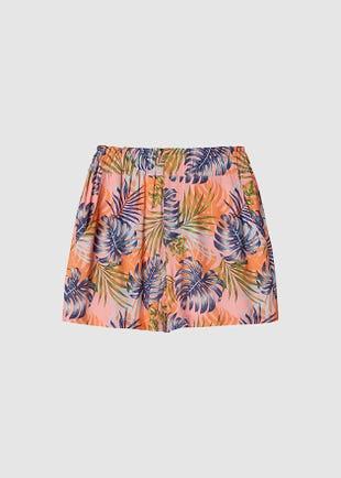 Tropical High Waist Shorts
