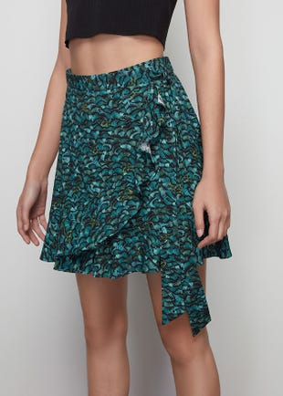 Butterfly Wrap Skirt
