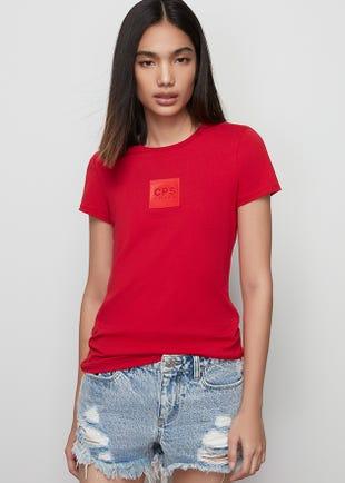Red Logo Tee