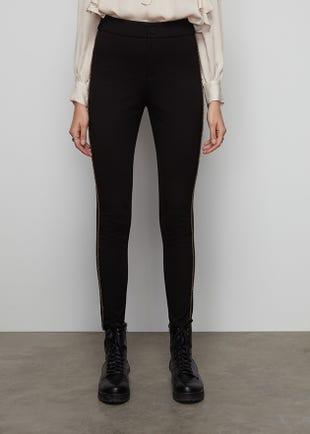 Metallic Side Stripe Trousers