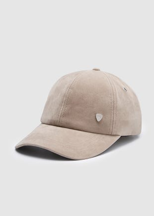Suede Baseball Cap