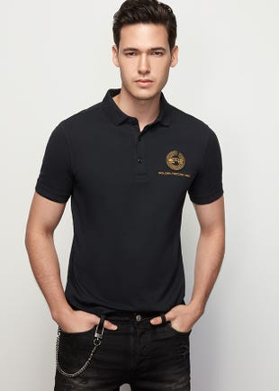 Golden Record Polo Shirt