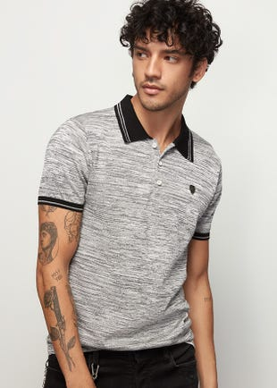 Duo Weave Polo Shirt