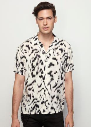 Brushstroke Resort Shirt