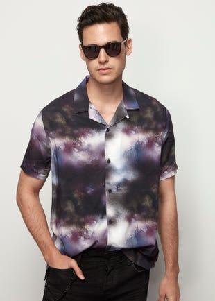 Tie Dye Resort Shirt