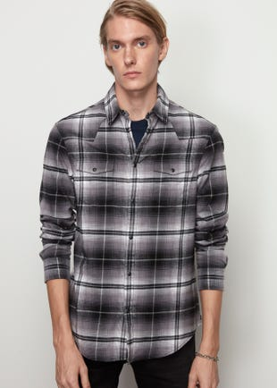 Slim Fit Western Shirt