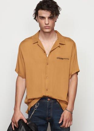 Brown Resort Shirt