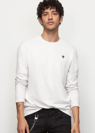 Long Sleeved Guitar Pick Tee