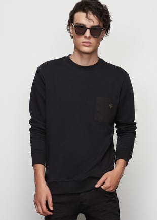 Chest Pocket Pullover