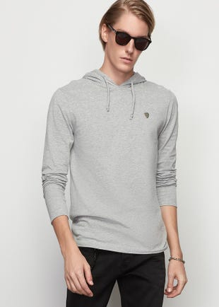 Jersey Cotton Hoodie