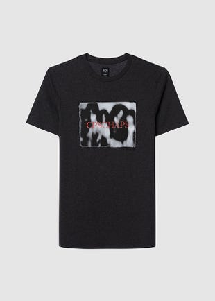 Top Dyed Graphic Tee