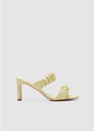 Scrunch Strap Sandals